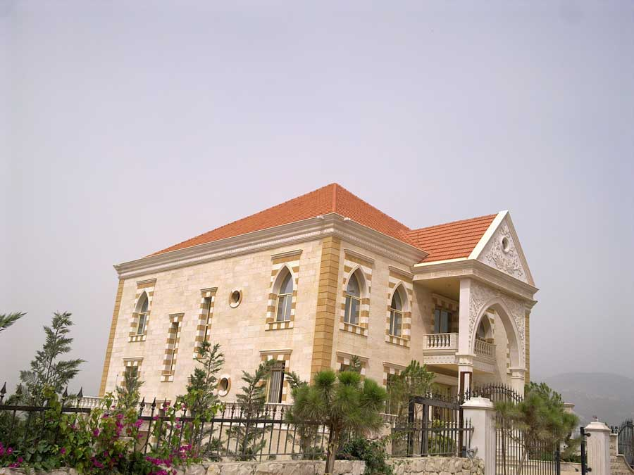 Projects mec mechanical engineering contracting in lebanon - Libanese villa ...
